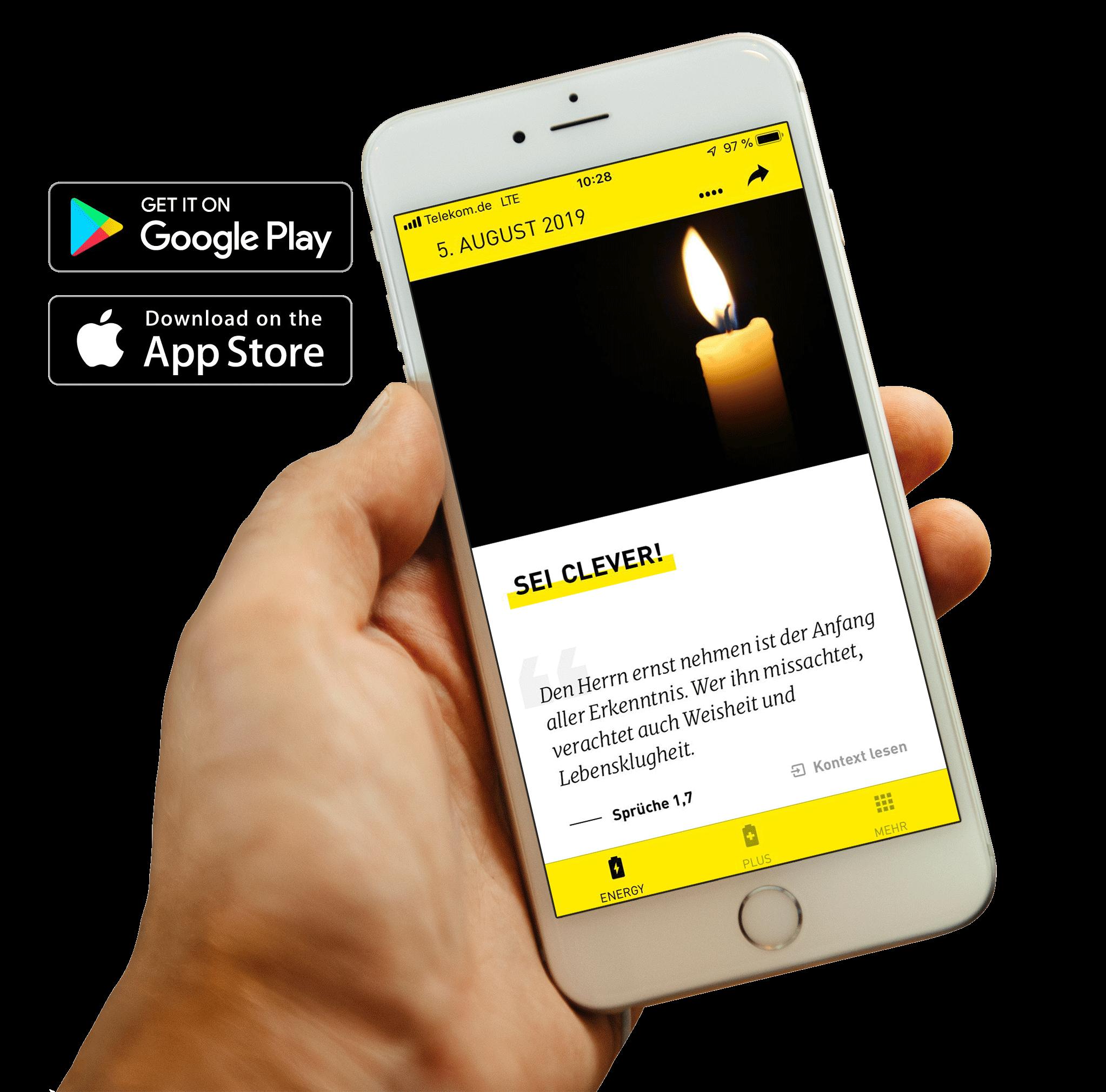 Bible Energy – Täglich Bibellesen unterwegs