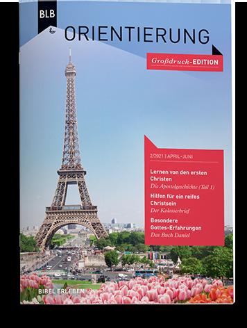 Orientierung Großdruck-EDITION 2/2021 Einzelheft